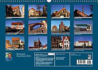 Wismarer Ansichten 2019 (Wandkalender 2019 DIN A3 quer) - Produktdetailbild 13