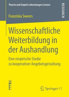 Wissenschaftliche Weiterbildung in der Aushandlung, Franziska Sweers
