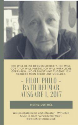 Wissenschaftskunst und Literatur - Wir leben heute in einer verwalteten Welt., Heinz Duthel