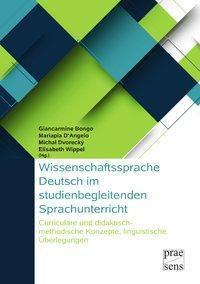 Wissenschaftssprache Deutsch im studienbegleitenden Sprachunterricht