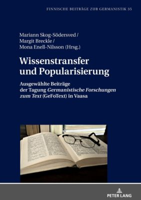 Wissenstransfer und Popularisierung