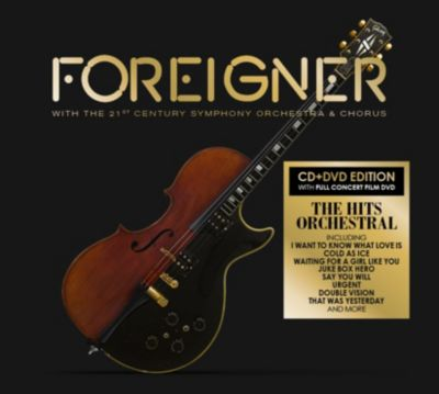 With the 21st Century Symphony Orchestra & Chorus, Foreigner