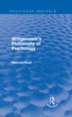 malcolm budd wittgensteins philosophy of psychology pdf