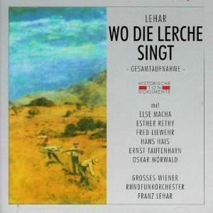 Wo Die Lerche Singt, Gross.Wiener Rundfunkorch.