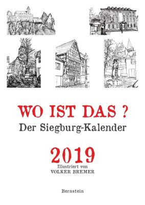 Wo ist das? Der Siegburg-Kalender 2019