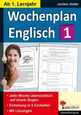 Wochenplan Englisch 1, Jochen Vatter