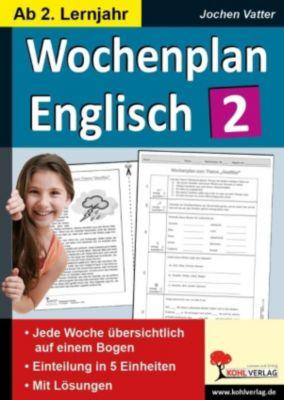 Wochenplan Englisch 2, Jochen Vatter