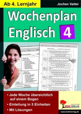 Wochenplan Englisch 4, Jochen Vatter