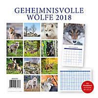 Wölfe Broschurkal. 2018 - Produktdetailbild 15