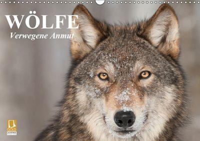 Wölfe. Verwegene Anmut (Wandkalender 2019 DIN A3 quer), Elisabeth Stanzer