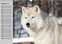 Wölfe. Verwegene Anmut (Wandkalender 2019 DIN A3 quer) - Produktdetailbild 2
