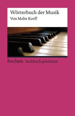 Wörterbuch der Musik, Malte Korff