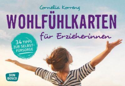 Wohlfühlkarten für Erzieherinnen - Cornelia Korreng |