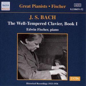 Wohltemperierte Klavier Buch I, Edwin Fischer