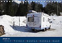 Wohnmobil-Reisen (Tischkalender 2019 DIN A5 quer) - Produktdetailbild 1