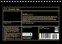 Wolf - Imposanter Jäger (Tischkalender 2019 DIN A5 quer) - Produktdetailbild 13