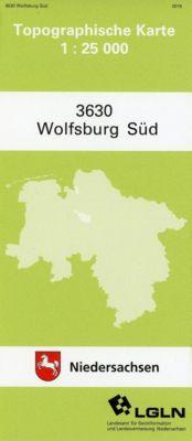 Wolfsburg Süd 1 : 25 000. (TK 3630/N)