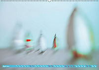 Wolken im Kopf - Verschwommene Segelträume (Wandkalender 2019 DIN A2 quer) - Produktdetailbild 4