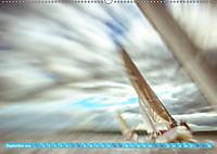 Wolken im Kopf - Verschwommene Segelträume (Wandkalender 2019 DIN A2 quer) - Produktdetailbild 9