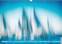 Wolken im Kopf - Verschwommene Segelträume (Wandkalender 2019 DIN A3 quer) - Produktdetailbild 2