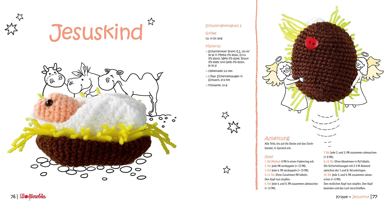Wollowbies Häkelminis Feiern Weihnachten Buch Portofrei