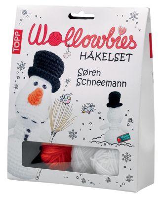 Wollowbies Häkelset Sören Schneemann
