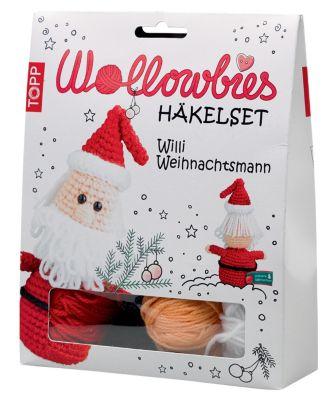 Wollowbies Häkelset Willi Weihnachtsmann