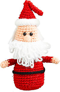 Wollowbies Häkelset Willi Weihnachtsmann - Produktdetailbild 1