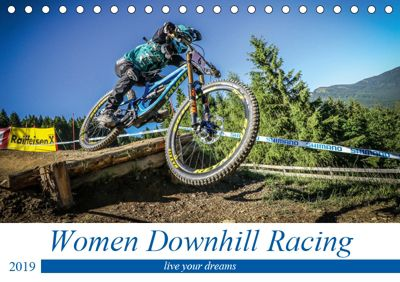 Women Downhill Racing (Tischkalender 2019 DIN A5 quer), Arne Fitkau