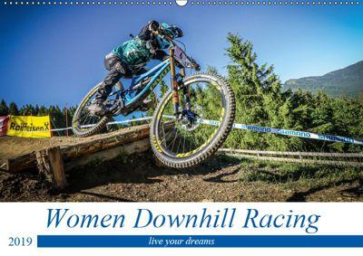 Women Downhill Racing (Wandkalender 2019 DIN A2 quer), Arne Fitkau