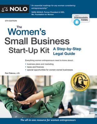 Women's Small Business Start-Up Kit, The, Peri Pakroo