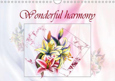 Wonderful harmony (Wall Calendar 2019 DIN A4 Landscape), Dusanka Djeric