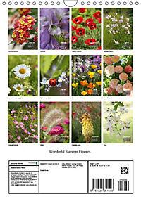 Wonderful Summer Flowers (Wall Calendar 2019 DIN A4 Portrait) - Produktdetailbild 13