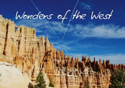 Wonders of the West / UK-Version (Poster Book DIN A4 Landscape), Claudio Del Luongo