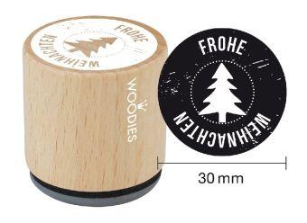 Woodies Stempel Frohe Weihnachten (007)