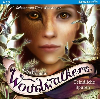 Woodwalkers - Feindliche Spuren, 4 Audio-CD, Katja Brandis