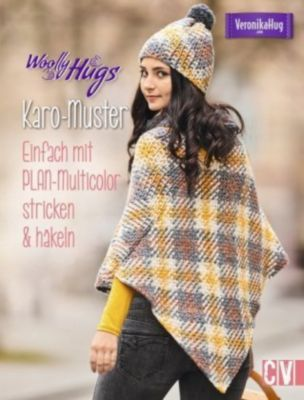 Woolly Hugs Karo-Muster, Veronika Hug