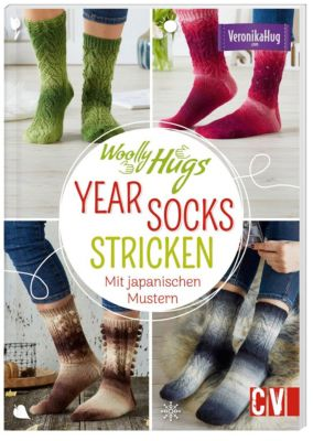 Woolly Hugs YEAR-Socks stricken - Veronika Hug |