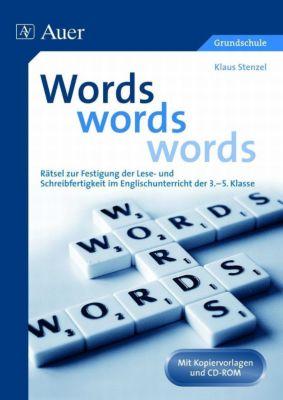 Words, words, words, m. CD-ROM, Klaus Stenzel
