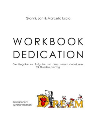 Workbook Dedication, Gianni Liscia, Jan Liscia, Marcello Liscia