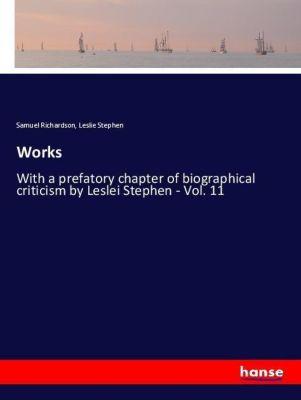 Works, Samuel Richardson, Leslie Stephen