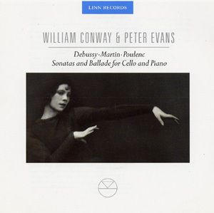 Works For Cello & Piano, William Conway, Peter Evans
