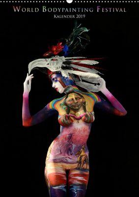 World Bodypainting Festival (Wandkalender 2019 DIN A2 hoch), Dmitri Moisseev