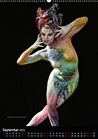 World Bodypainting Festival (Wandkalender 2019 DIN A2 hoch) - Produktdetailbild 9