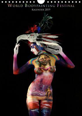 World Bodypainting Festival (Wandkalender 2019 DIN A4 hoch), Dmitri Moisseev