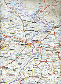 World Mapping Project Reise Know-How Landkarte Indien, Nordwest (1:1.300.000); Northwest India / Inde, nord-ouest / Indi - Produktdetailbild 1