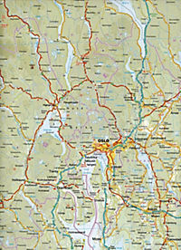 World Mapping Project Reise Know-How Landkarte Norwegen Süd (1:500.000); Southern Norway / Norvège sud / Noruega sur - Produktdetailbild 1