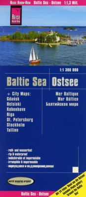 World Mapping Project Reise Know-How Landkarte Ostsee; Baltic Sea; Mer baltique; Mar báltico