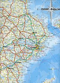 World Mapping Project Reise Know-How Landkarte Ostsee; Baltic Sea; Mer baltique; Mar báltico - Produktdetailbild 2