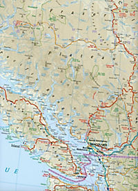 World Mapping Project Reise Know-How Landkarte Kanada West (1:1.900.000); West Canada / Canada ouest / Canadá occidental - Produktdetailbild 2